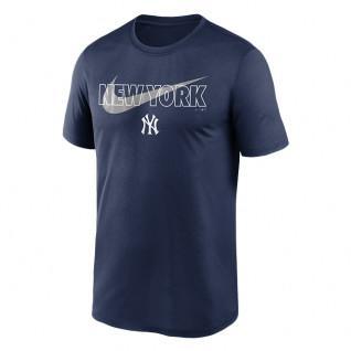 Maglietta New York Yankees Big City Swoosh Legend