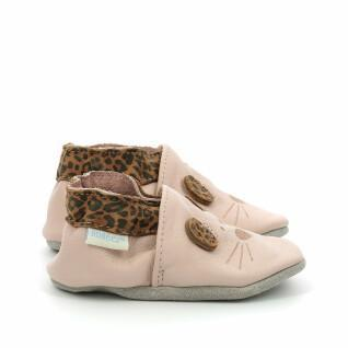 Pantofole per bambini Robeez Leo Mouse