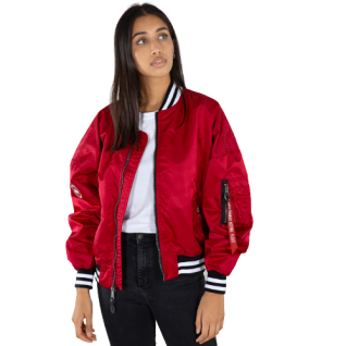 Giacca donna Alpha Industries MA-1 OS Tipped