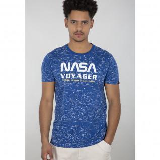 T-shirt Alpha Industries NASA Voyager AOP