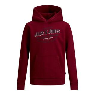Felpa con cappuccio per bambini Jack & Jones Logo