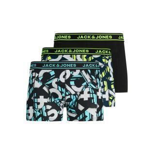Set di 3 boxer per bambini Jack & Jones Logo Print