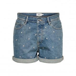 Pantaloncini di jeans da donna Only onljosie life