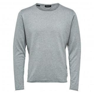 Pullover Selected Dome col rond