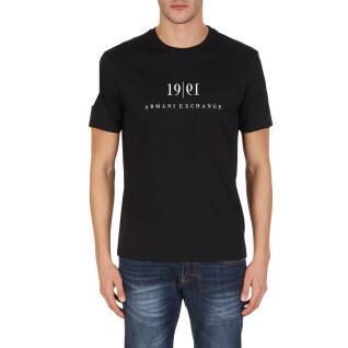 T-shirt Armani exchange 6KZTAH-ZJ5LZ noir