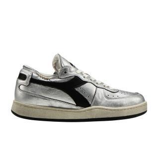 Scarpe da donna Diadora row cut silver used