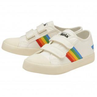 Scarpe per bambini Gola Coaster Rainbow Velcro