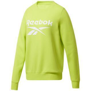 Felpa girocollo donna Reebok Identity Logo Fleece