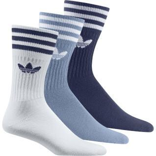 Set di 3 paia di calzini a metà polpaccio adidas Originals