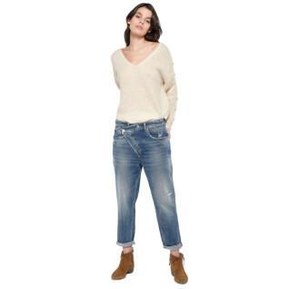 Jeans boyfit da donna Le temps des cerises Cosy