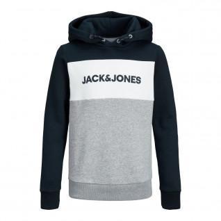 Felpa per bambini Jack & Jones JJelogo blocking