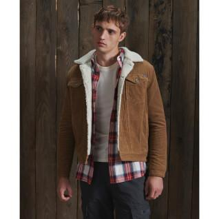 Giacca sherpa in velluto a coste Superdry Highwayman