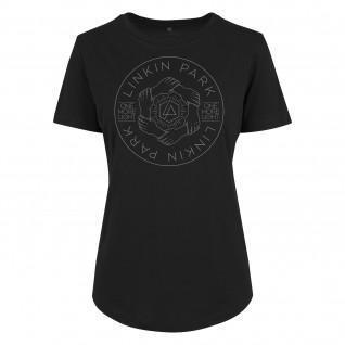 T-shirt donna Urban Classics linkin park hex circle box
