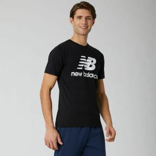 T-shirt New Balance essentials stacked logo