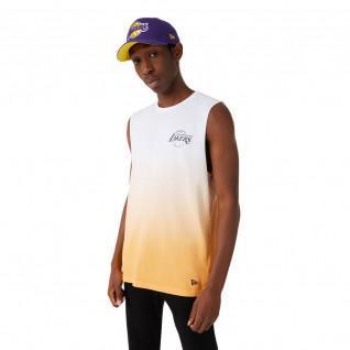 Canotta New Era NBA Los Angeles Lakers dip dye