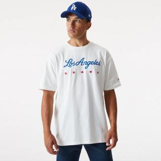 Maglietta New era Los Angeles Dodgers heritage oversize