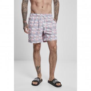 Pantaloncini da bagno Urban Classics pattern (Taglie grandi)