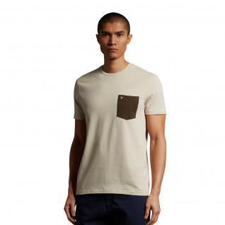 T-shirt Lyle & Scott Contrast Pocket